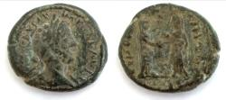 Ancient Coins - Judea,Aelia Capitolina. Commodus, with Lucilla and Crispina. Æ. (21.5 g - 30.4 mm), AD 177-192. (Jerusalem)