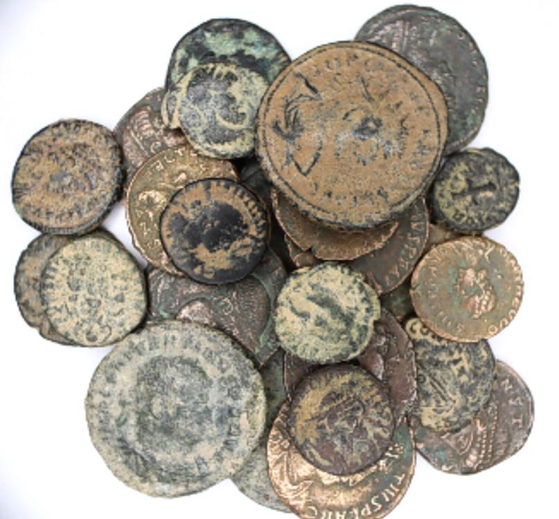Ancient Coins -  Lot of 25 Nice ancient coins Bronze AE.