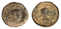 Ancient Coins - Vabalathus with Aurelian, AD 270-275