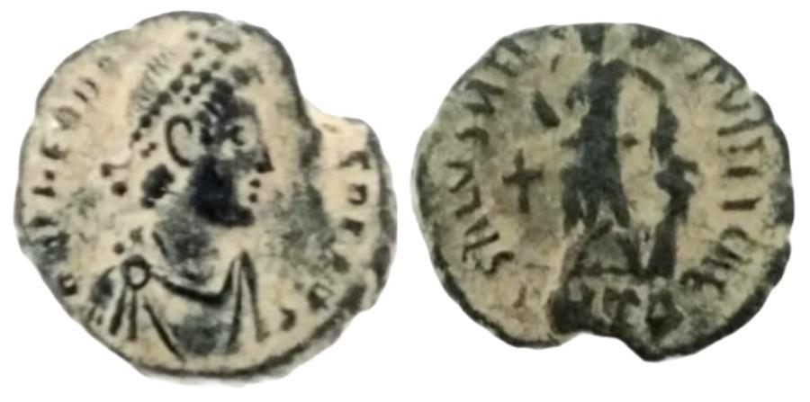 Ancient Coins - Theodosius I. A.D. 379-395. AE.
