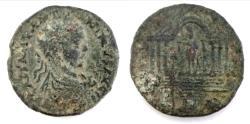 Ancient Coins - Phoenicia, Tyre. Elagabalus. A.D. 218-222. AE. 31 mm, 18.4 g.