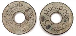 World Coins - Palestine, 5 Mils 1939