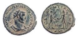 Ancient Coins - Probus. 276-282 AD. Antoninianus, Antioch mint.