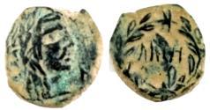Ancient Coins - NABATAEA. Aretas IV. 9 BC-AD 40. Æ. Petra mint.