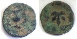 Ancient Coins - Judaea, The Jewish War. Æ Prutah, 66-70 CE. Jerusalem, year 2 (67/8 CE)