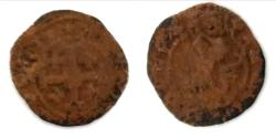 World Coins - MEDIEVAL. Crusader States. Lusignan Kingdom of Cyprus. James II (1460-1473). AE 19.3mm, 1.2g
