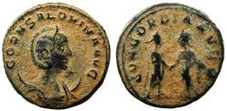 Ancient Coins - Roman coin of Salonina - AE antoninianus 254-268 AD