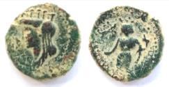 Ancient Coins - Dora, Phoenicia. Nero (54 - 68 AD). AE (20.5mm, 6.6 gm,