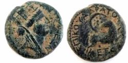 Ancient Coins - Roman Provincial, Syria-Antioch, Autonomous Issue Under Nero, AE.Year 104 (AD 55/56).