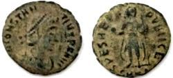Ancient Coins - Constantius II,AE. SPES REI PVBLICE