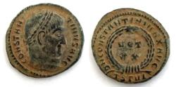 Ancient Coins - Constantine I VOT XX from Thessalonica.AE