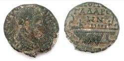 Ancient Coins - Syria, Decapolis, Gadara, Elagabalus, AD 218-222., AE
