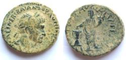 Ancient Coins - Judaea Caesarea Maritima Trajan  98-117 AD