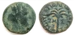 Ancient Coins - PHOENICIA.AE.14.8mm.Pseudo-Autonomous issue, struck AD 121/22.