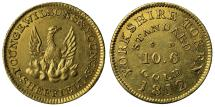 World Coins - Sheffield Younge gold Half Guinea