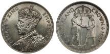 World Coins - New Zealand, 1935 Proof 'Waitangi' Crown