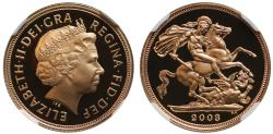 World Coins - Elizabeth II 2003 proof Sovereign PF70 ULTRA CAMEO