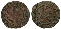 World Coins - Scotland, James VI copper Penny, type II extremely rare