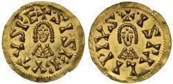 World Coins - Visigoths, Sisebut gold Tremissis, Seville