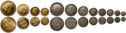 World Coins - George V 1911 gold proof Set