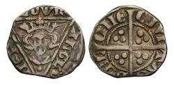 World Coins - Ireland, Edward I Penny Dublin, later issue with single pellet below bust
