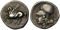 Ancient Coins - Corinth, silver Stater