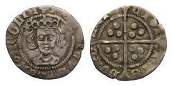 World Coins - Henry VI Durham Mint Penny, Bishop Langley, Rosette Mascle issue 1430-31