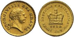 World Coins - George III 1810 Third-Guinea