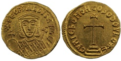 Ancient Coins - Theophilus, Gold Solidus