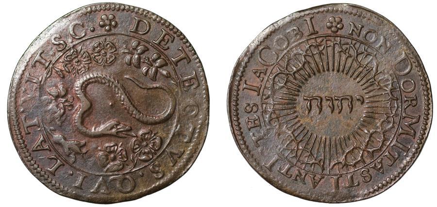 World Coins - The Gunpowder Plot, 1605.