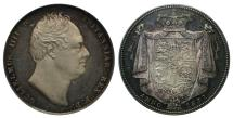 World Coins - William IV 1831 proof Halfcrown CGS 82