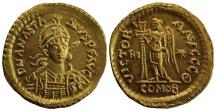 Ostrogothic Kingdom, Theodoric, Gold Solidus