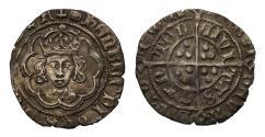World Coins - Henry VII Half-Groat Canterbury