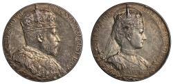 World Coins - Coronation of Edward VII, 1902.