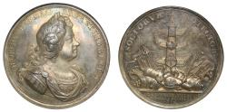 World Coins - Naval Action off Cape Passaro, 1718