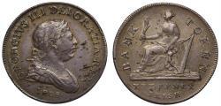 World Coins - Ireland, George III Bank of Ireland 30-Pence, 1808