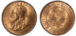 World Coins - Hong Kong, Cent 1934.