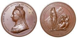 World Coins - International Medical Congress, 1881.