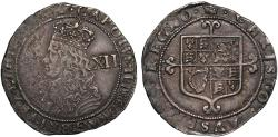 World Coins - Charles II Shilling, third Hammered IssueCharles II Shilling, third Hammered Issue