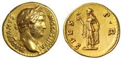 Hadrian, Gold Aureus