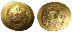 Ancient Coins - Constantine IX, Gold Histamenon Nomisma