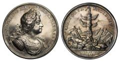 World Coins - Naval Action off Cape Passaro, 1718.