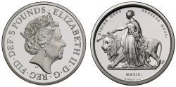 Ancient Coins - Elizabeth II 2019 Una & Lion silver proof 2oz