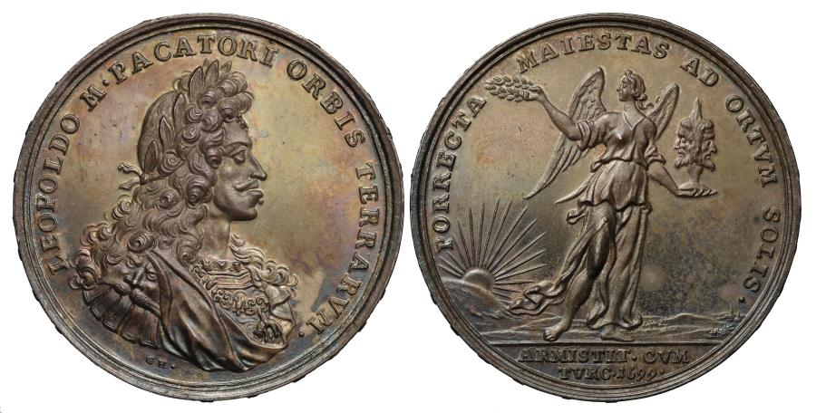 World Coins - The Treaty of Karlowitz, 1699.