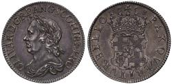 World Coins - Oliver Cromwell 1658 Shilling