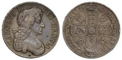 World Coins - Charles II 1681 Crown