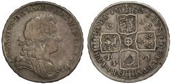 World Coins - George I 1723 Halfcrown South Sea Company issue