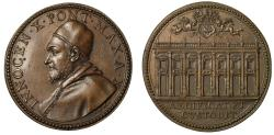 World Coins - Pope Innocent X, Capitoline Palace.