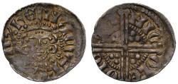 World Coins - Henry III voided long cross Penny, London class 5b2