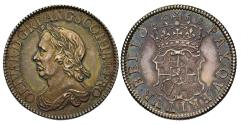 World Coins - Oliver Cromwell 1658 Shilling MS63